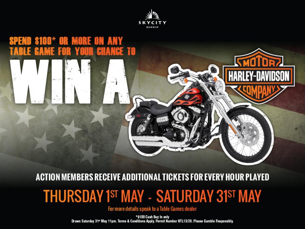 Skycity Win A Harley Promotion