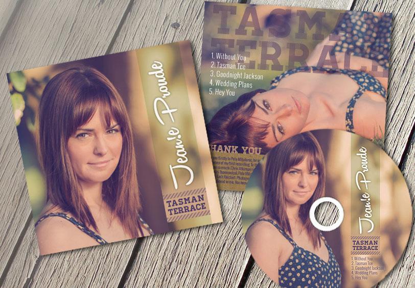 JeanieProude CD Cover Tasman Terrace